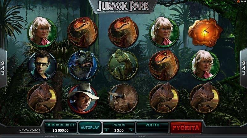 Jurassic Park -kolikkopeli
