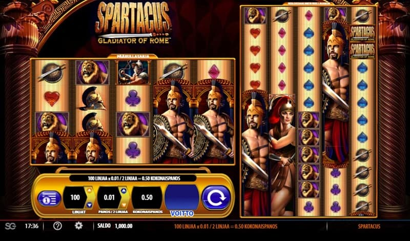 Spartacus-kolikkopeli