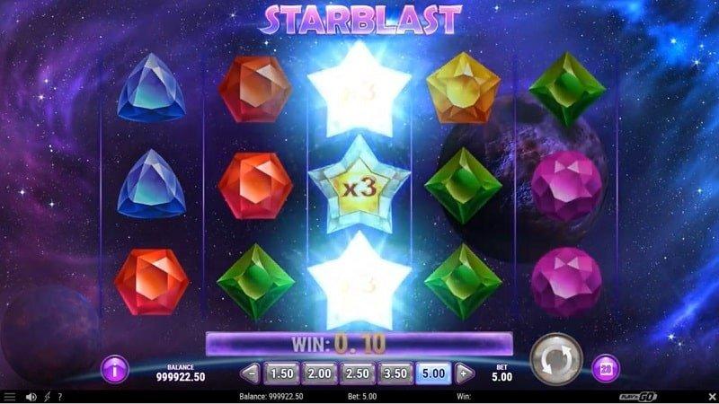 Starburst voittokerroin wild