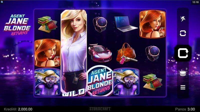 Agent Jane Blonde Returns -kolikkopeli