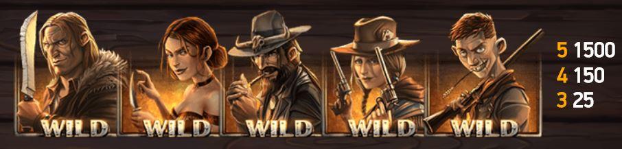 Dead or Alive 2 wild-symbolit