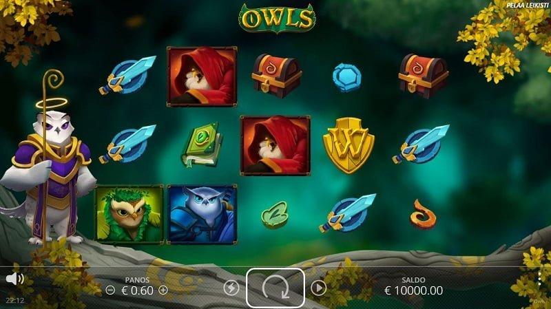 Owls-kolikkopeli