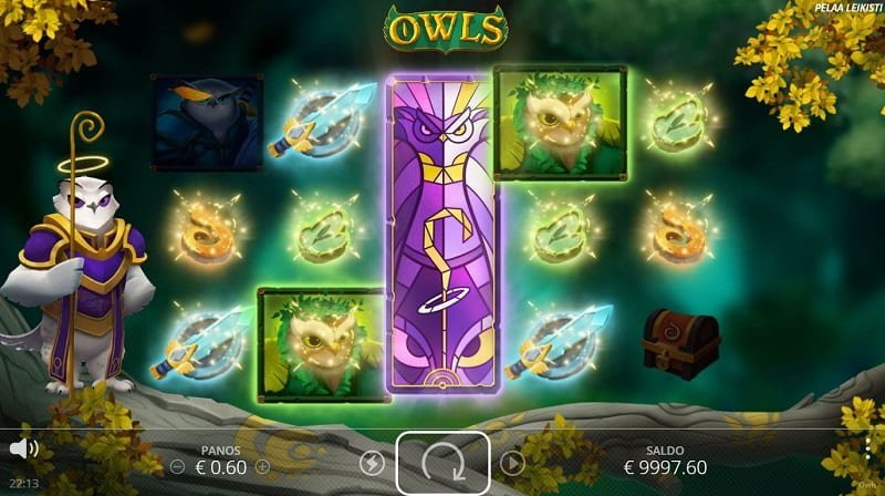 Owls-pelin Scatter Loot -toiminto