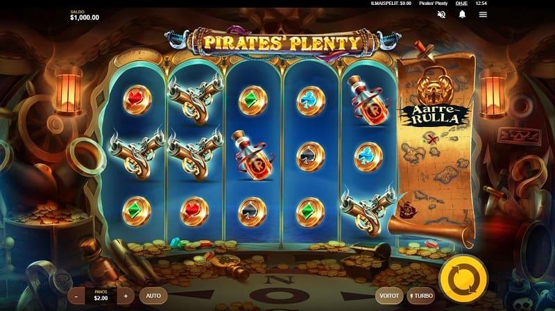 Pirates Plenty -kolikkopeli