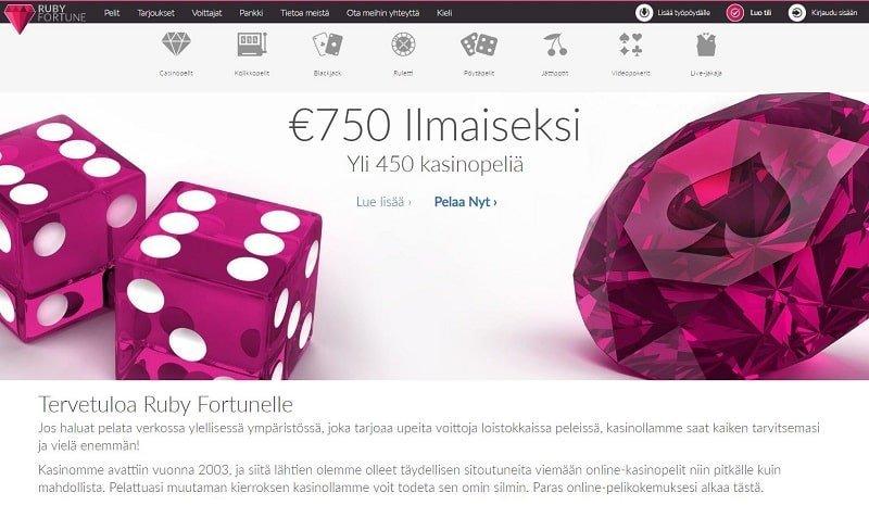 Ruby Fortune -nettikasino