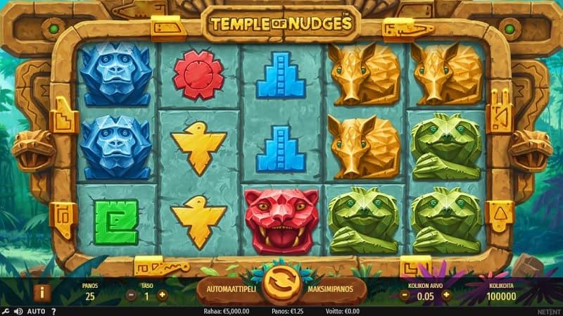 Temple of Nudges -kolikkopeli