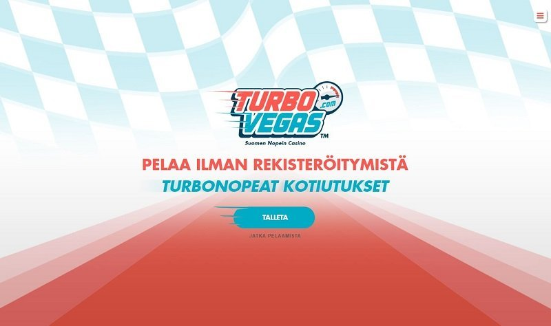 TurboVegas on nopea nettikasino
