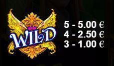 Wild Pixies wild-merkki