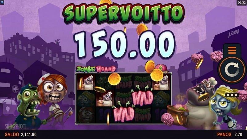 Zombie Hoard Supervoitto