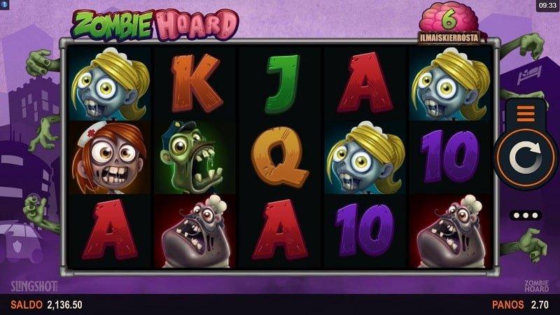 Zombie Hoard -kolikkopeli