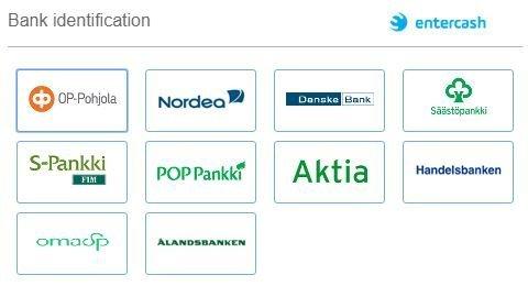Zulabetilla rahaliikenne kulkee Entercashin ja suomalaispankkien kautta