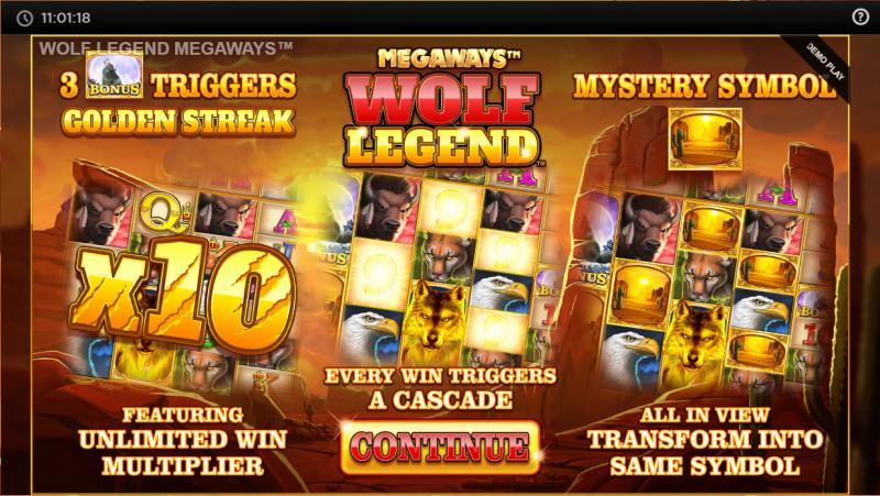 wolf legend megaways peliohjeet