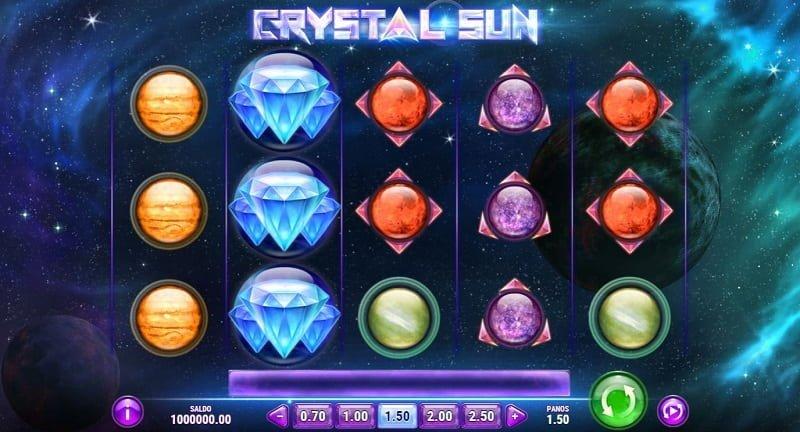 Crystal Sun -kolikkopeli
