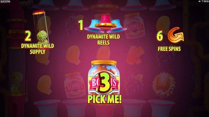 Durian Dynamite -pelin bonusvalitsin