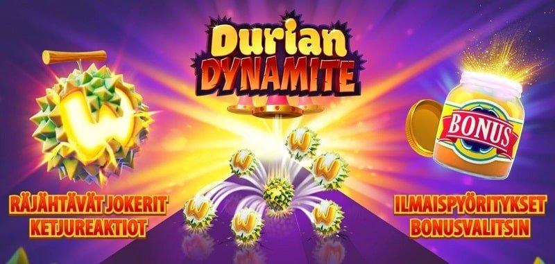 Durian Dynamite -slotin toiminnot