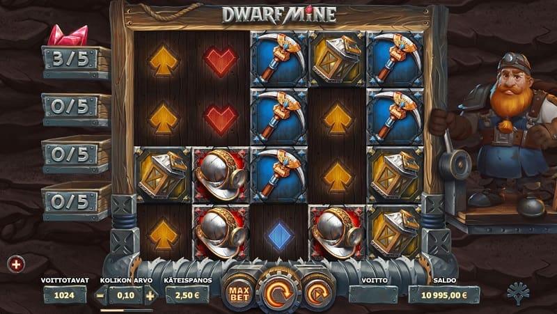 Dwarf Mine -kolikkopeli