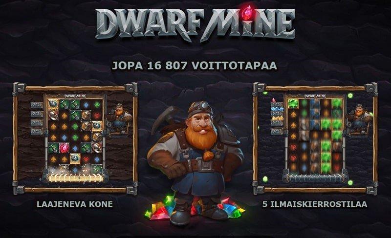 Dwarf Mine toiminnot