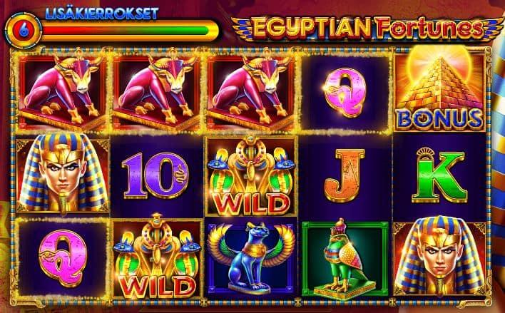Egyptian Fortunes lisäkierrokset