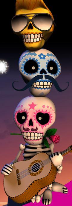 Esqueleto Explosivo kallot