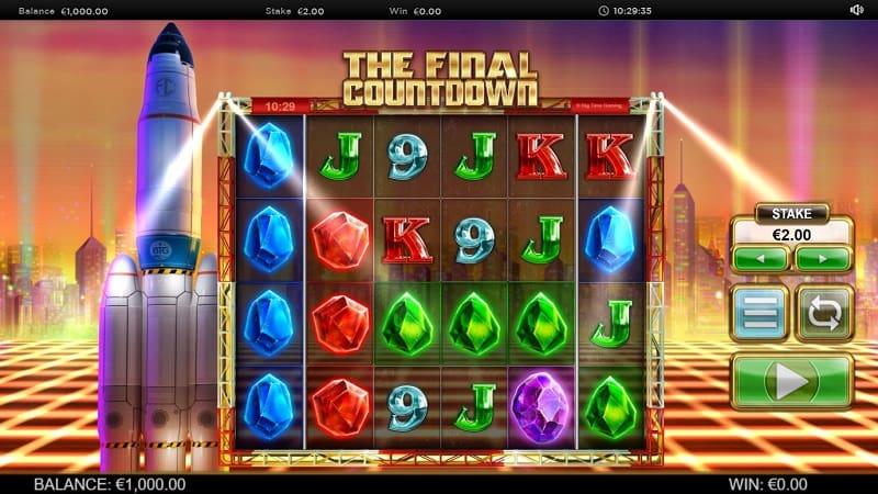 The Final Countdown -kolikkopeli
