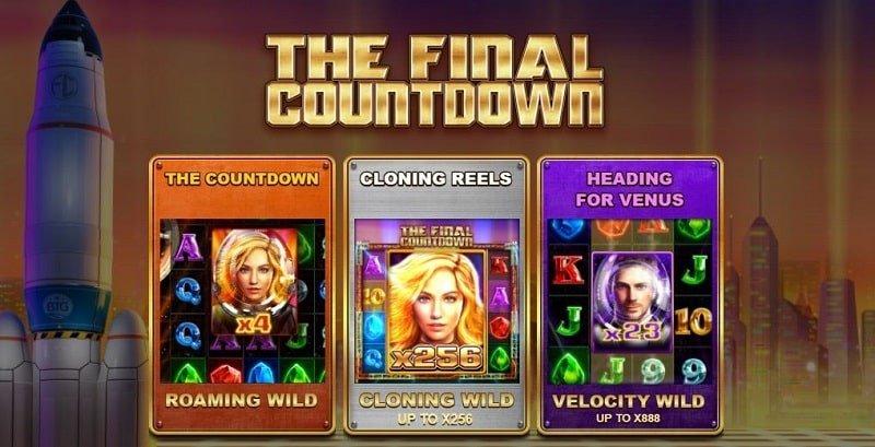 The Final Countdown toiminnot