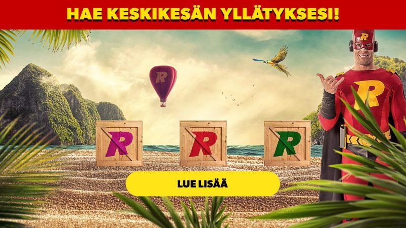 Rizk Casino: Keskikesän hulluttelu -kampanja