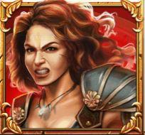 Game of Gladiators Amazonia symboli