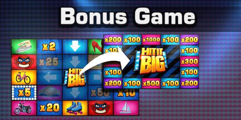 Hit It Big bonuspeli