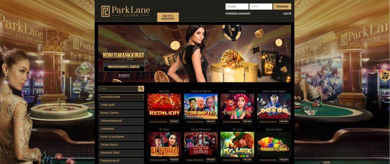 Parklane Casinon etusivu