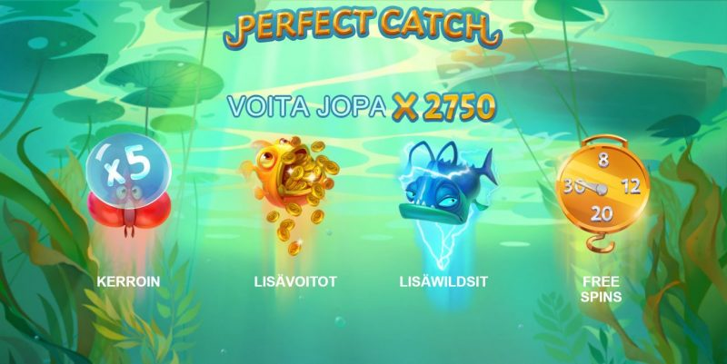 Perfect Catch -erikoissymbolit