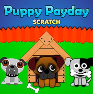 Puppy Payday Scratch, 1x2 Gaming