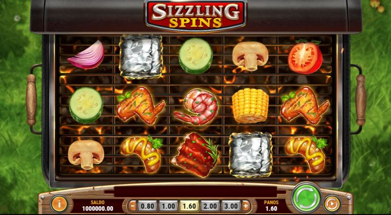 Sizzling Spins -kolikkopeli