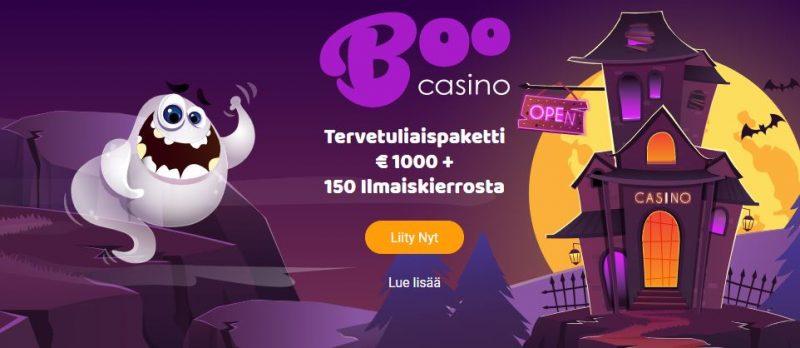 Boo Casino 1000e bonus