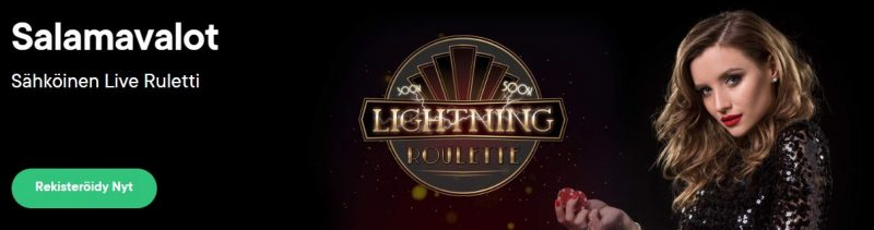 Fortune Legends lightning roulette