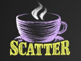 Le Kaffee Bar scatter symboli
