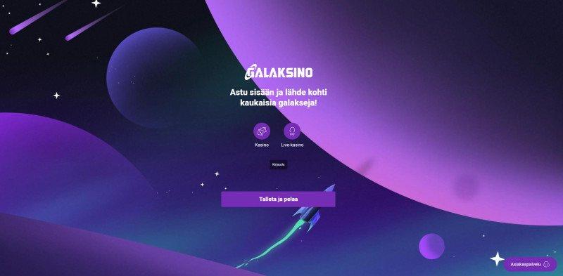 galaksino casino etusivu