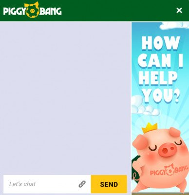 piggy bang casino live chat asiakaspalvelu