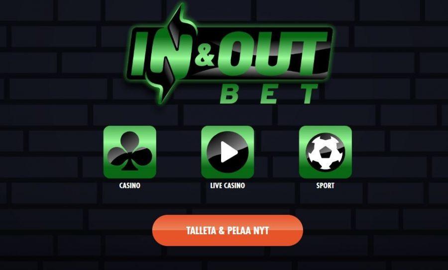 InAndOutBet tarjoaa nopeaa pelaamista