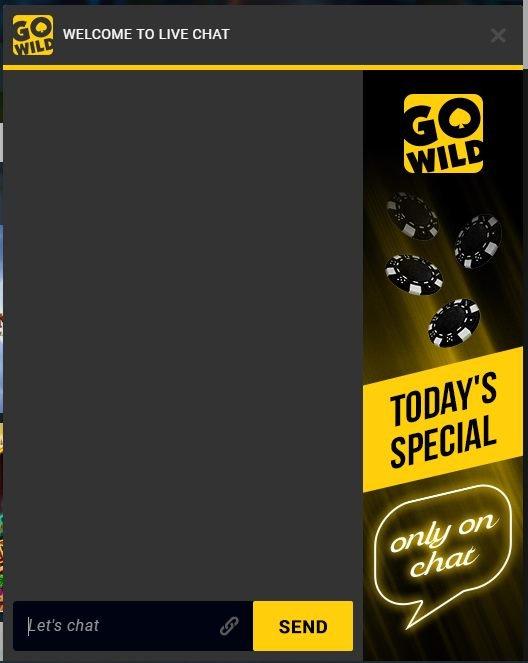 gowild casino asiakaspalvelu live chat