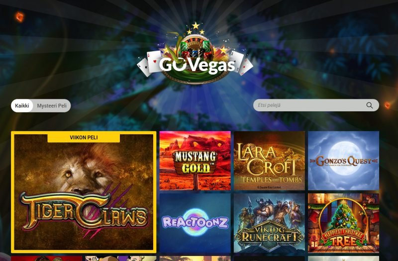 gowild casino govegas kasinopelit