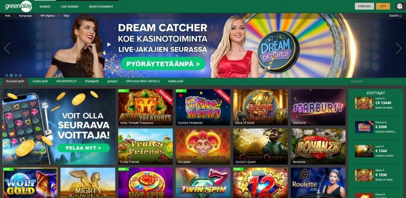 greenplay casino etusivu