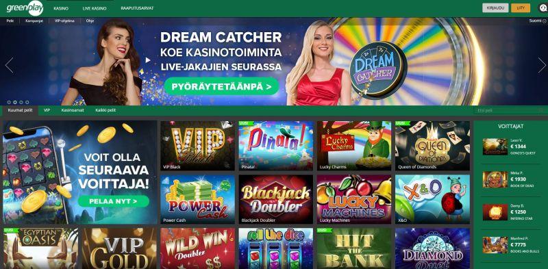 greenplay casino raaputusarvat