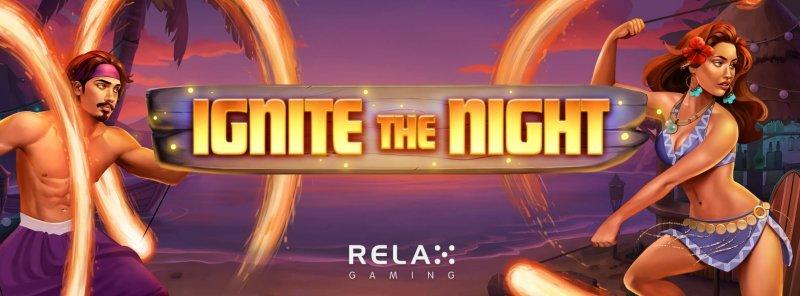 relax gaming pelinvalmistaja ignite the night logo