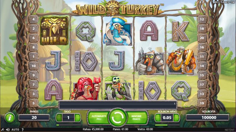wild_turkey_kolikkopeli