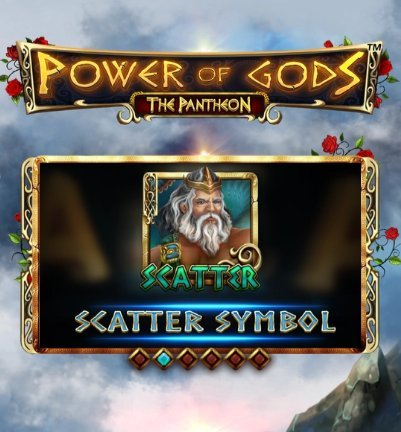 power of gods the pantheon scatter symboli ominaisuus