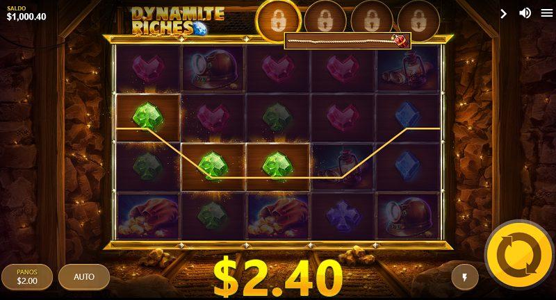 dynamite riches peruspeli