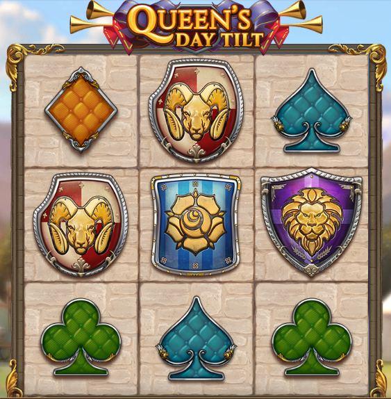 queens day tilt peliarvostelu logo