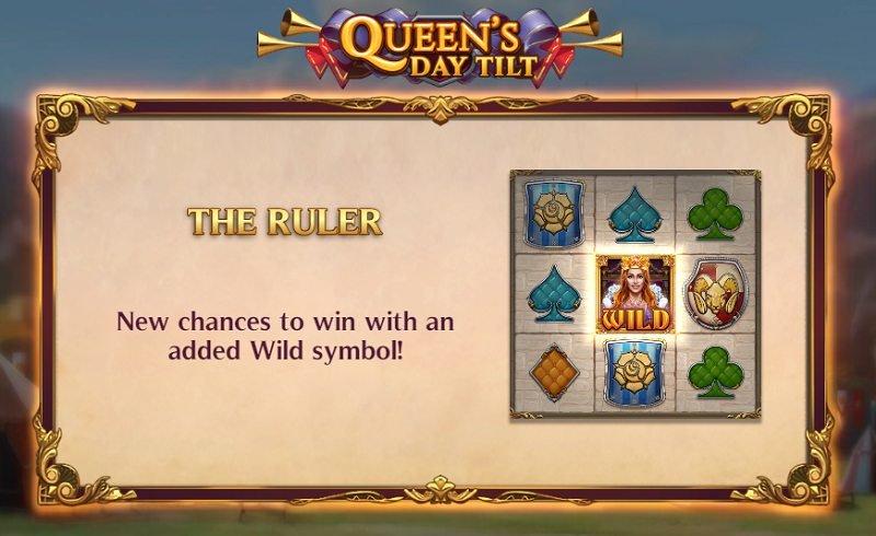 queen's day tilt the ruler bonustoiminto