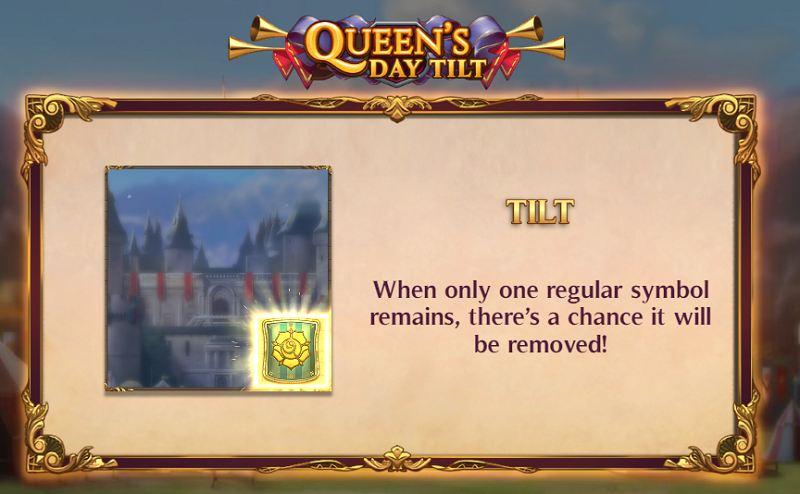 queen's day tilt tilt ominaisuus