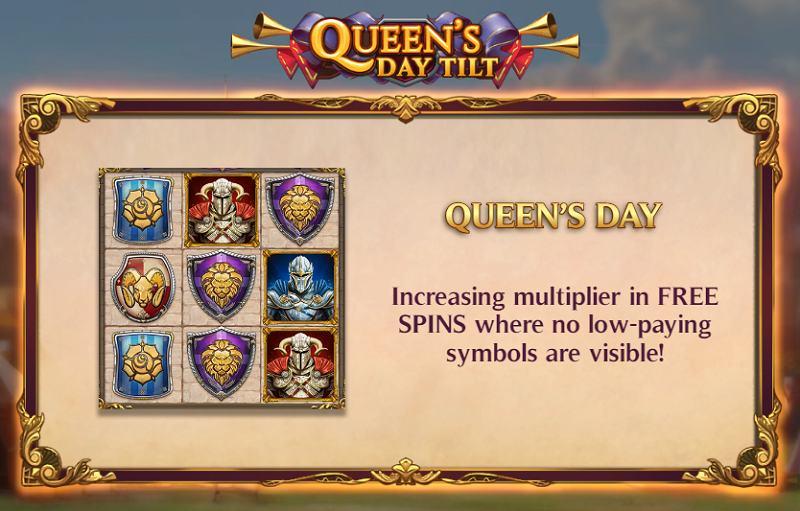 queen's day tilt arvostelu voittokerroin